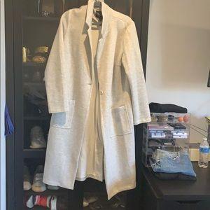 Forever 21 long sleeve coat
